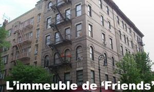 Immeuble de la série Friends