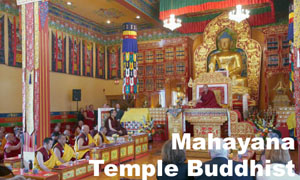 Mahayana Temple Buddhist