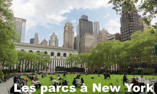 les parcs à new york