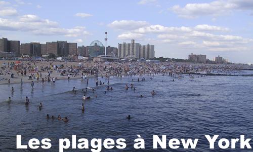 les plages à new york